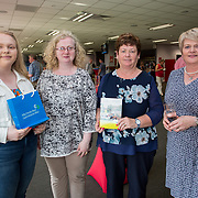 31.05.2018.          <br /> LEO Limerick welcomed Sean Gallagher to Limerick to talk about his new book 'Secrets to Success- Inspiring Stories from Leading Entrepreneurs'.<br /> Pictured at the event in Thomond Park were, Mary Moloney, Mary Moloney, Bernie Carroll, Student Programmes Ireland and Bernie Moloney, LEO. Picture: Alan Place