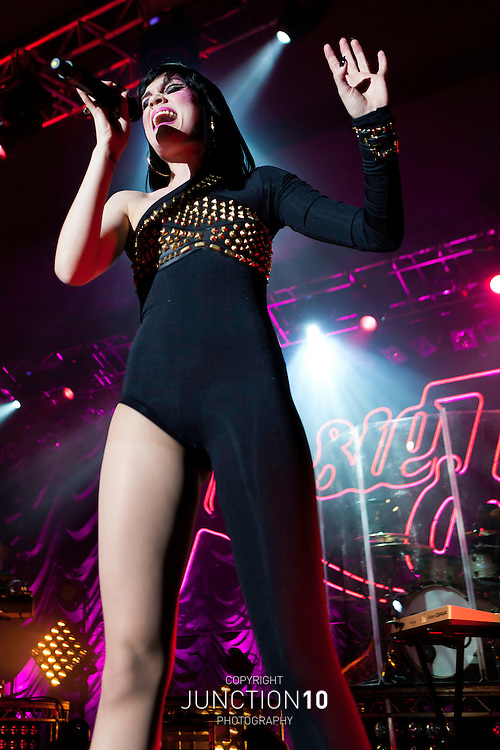 Jessie J in concert at the O2 Academy - Birmingham, United Kingdom<br /> Picture Date: 2 April, 2011