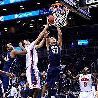 The Penn State Nittany Lions take on the Ole Miss Rebels at the Barclays Center on November 30, 2013.<br /> Ben Solomon/Penn State Athletics