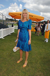 TESS DALY at the final of the Veuve Clicquot Gold Cup 2007 at Cowdray Park, West Sussex on 22nd July 2007.<br />