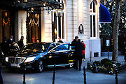 MADRID, SPAIN, MARCH 02 <br /> <br /> Pierce Brosnan has returned to Spain. The British actor is back in Madrid, this time to shoot a commercial brand insurance which is image. Enthusiast our country has traveled many times to promote their other professional commitments. His first wife, Cassandra Harris, died of ovarian cancer in 1991, and the actor and his three children were destroyed. In 1994 he met Keely Smith, an American journalist. They married in 2001 and have two children together. This time his wife did not accompany him,<br /> ©Exclusivepix Media