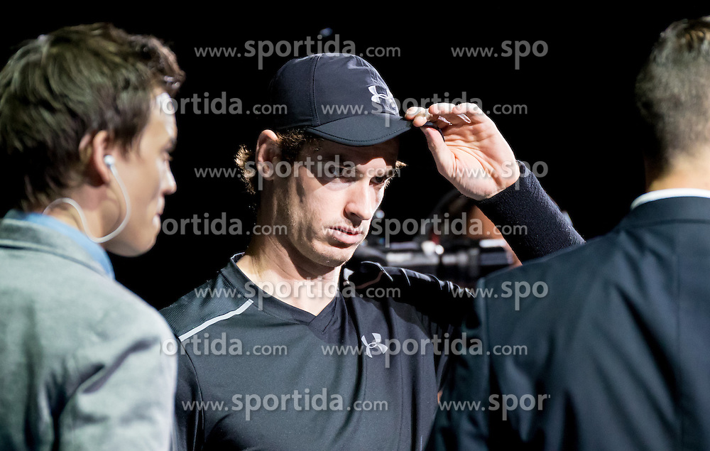 23.10.2016, Stadthalle, Wien, AUT, ATP Tour, Erste Bank Open, Tie Break Tens, Gruppe B, im Bild Andy Murray (GBR) // Andy Murray of Great Britain during a Tie Break Tens, group B, match of Erste Bank Open of ATP Tour at the Stadthalle in Vienna, Austria on 2016/10/23. EXPA Pictures © 2016, PhotoCredit: EXPA/ Sebastian Pucher