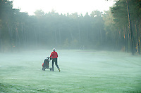 LOCHEM - Hole 1. Herfst op de Lochemse Golfclub, De Graafschap. COPYRIGHT KOEN SUYK