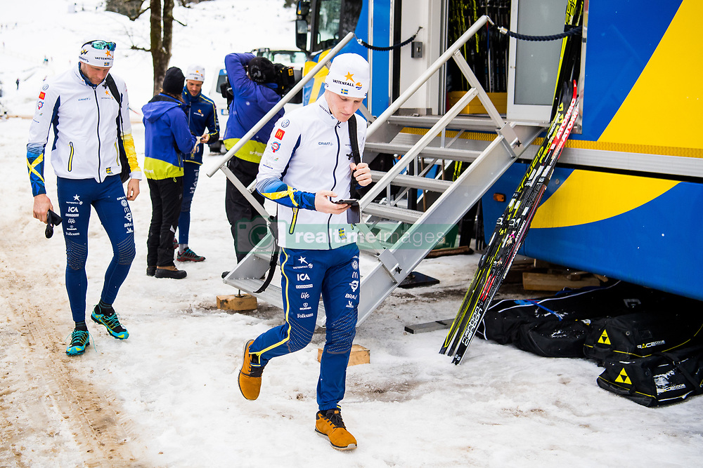 January 2, 2018 - Oberstdorf, GERMANY - 180102 Daniel Rickardsson and Jens Burman of Sweden ahead of a training session during Tour de Ski on January 2, 2018 in Oberstdorf..Photo: Jon Olav Nesvold / BILDBYRN / kod JE / 160117 (Credit Image: © Jon Olav Nesvold/Bildbyran via ZUMA Wire)