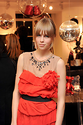 EDIE CAMPBELL at the H&M Home Launch held at 174-176 Oxford Street, London W1 on 2nd November 2010.