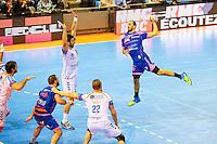 Michele Skatar - 01.04.2015 - Toulouse / Cesson Rennes - 19eme journee de Division 1<br />Photo : Manuel Blondeau / Icon Sport