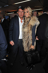 PETRA ECCLESTONE and JAMES STUNT at the launch of One Hyde Park, The Residences at Mandarin Oriental, Knightsbridge, London on 19th January 2011.