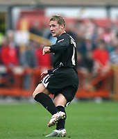 Photo: Rich Eaton.<br /> <br /> Cheltenham Town v Nottingham Forest. Coca Cola League 1. 13/10/2007. Forest's Kris Commons scores midway through the second half to make it 3-0 and celebrates.