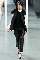 Tati Cotliar walks down runway for F2012 Derek Lam's collection in Mercedes Benz fashion week in New York on Feb 10, 2012 NYC