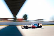 Lewis Hamilton (GBR) drives the Vodafone Mclaren Mercedes MP4-27   Formula One Testing, Circuit de Catalunya, Barcelona, Spain, World Copyright: Jamey Price