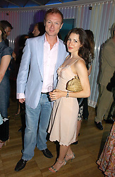 GARY & LAUREN KEMP at a party to celebrate the publication of 'How to Party' by Yasmin Mills with illustrations by Olympia Scarry, held at the Fifth Floor Restaurant, Harvey Nichols, Knightsbridge, London on 3rd July 2006.<br /><br />NON EXCLUSIVE - WORLD RIGHTS