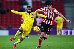 Alex Jakubiak of Bristol Rovers takes on Jack Baldwin of Sunderland - Mandatory by-line: Robbie Stephenson/JMP - 15/12/2018 - FOOTBALL - Stadium of Light - Sunderland, England - Sunderland v Bristol Rovers - Sky Bet League One