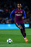 02 Nelson Semedo from Portugal of FC Barcelona during the Spanish championship La Liga football match between FC Barcelona and Real Sociedad on May 20, 2018 at Camp Nou stadium in Barcelona, Spain - Photo Xavier Bonilla / Spain ProSportsImages / DPPI / ProSportsImages / DPPI