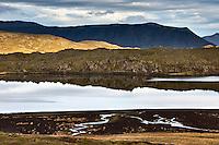 Lake Selvallavatn at Snæfellsnes Peninsula, Iceland.