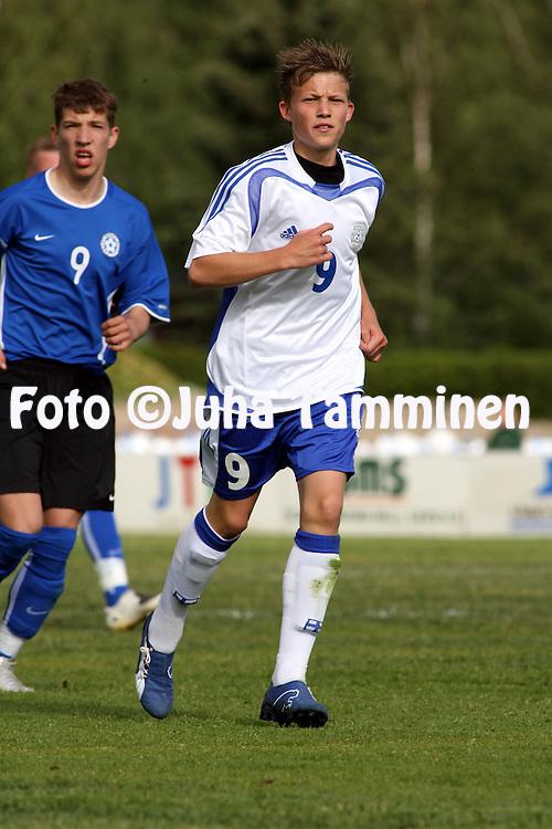 09.06.2008, Eura..U-17 (1991 syntyneet) maaottelu Suomi - Viro.Alexander Ring - Suomi.©Juha Tamminen.....ARK:k