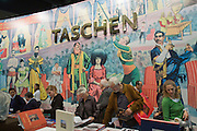 Buchmesse Frankfurt, biggest book fair in the World. TASCHEN books.