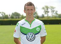 German Soccer Bundesliga 2015/16 - Photocall of VfL Wolfsburg on 16 July 2015 at the Volkswagen-Arena in Wolfsburg, Germany: Ivan Perisic