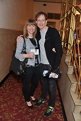 RUTH SULLIVAN and ballet dancer EDWARD WATSON at West End Eurovision 2013 held at the  Dominion Theatre, London on 23rd May 2013.