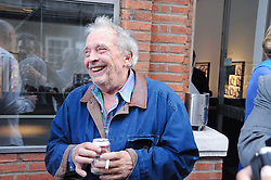 DAVID BAILEY at a private view of photographs by David Bailey entitled 'Then' held at Hamiltons, 13 Carlos Place, London W1 on 6th July 2010.