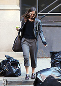 Keira Knightley leaves her Tribeca apartment