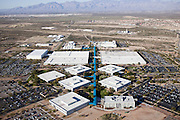 The University of Arizona Technology Park houses 27 companies and employs more than 7,000 people on its 1,345 acres.  It is a major incubator for the area's rapid growth 12 miles south of downtown Tuscon on the I-10 corridor.  The full parking lots surrounding the facility are a sign of added commuter traffic.