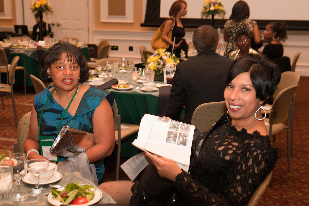 Celebrating Black Heritage at Ohio University Through the Decades at the Black Alumni Reunion Gala in Baker Center on September 28, 2013.