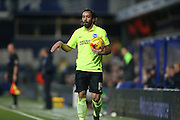Brighton defender, full back, Inigo Calderon (14) during the Sky Bet Championship match between Queens Park Rangers and Brighton and Hove Albion at the Loftus Road Stadium, London, England on 15 December 2015.