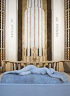 21/08/16 - AIX LES BAINS - SAVOIE - FRANCE - Architecture thermale a Aix les Bains. Les sources de l Atrium - Photo Jerome CHABANNE