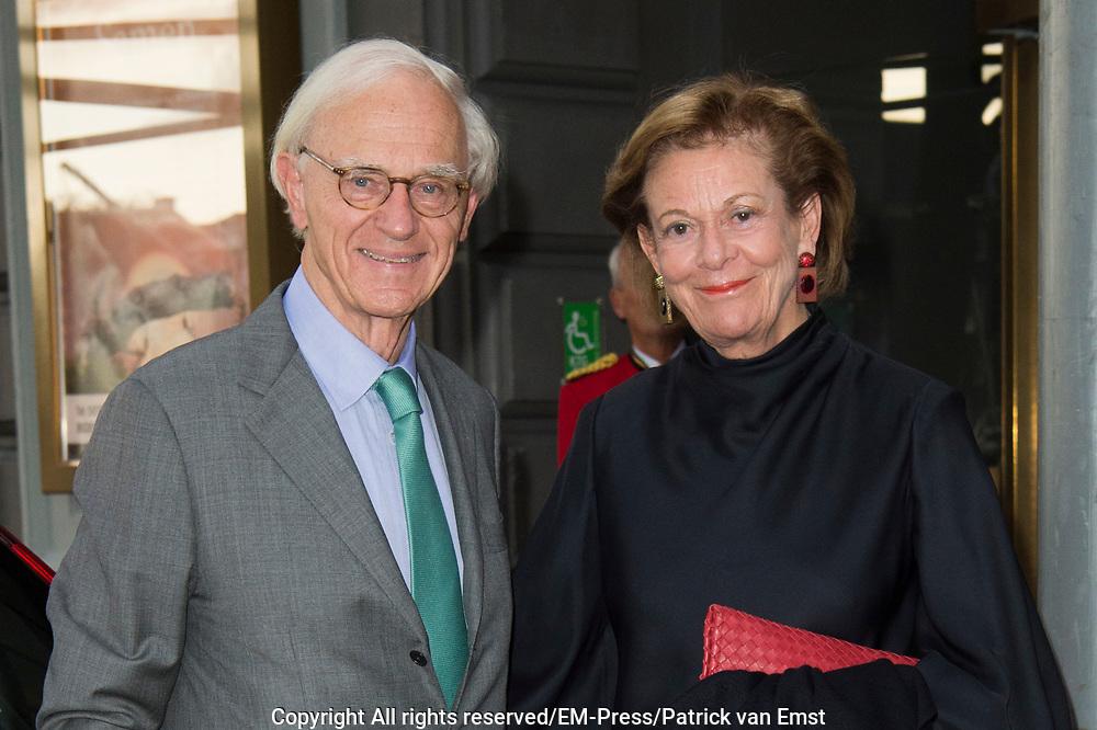 Samen - Een Ode aan de Natuur<br /> <br /> Het NatuurCollege brengt in het kader van de tachtigste verjaardag van haar voorzitter, Prinses Irene, een ode aan de natuur in Koninklijk Theater Carré. <br /> <br /> Op de foto:  Onno Ruding en partner