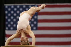 USA Gymnastics GK Classic - Schottenstein Center, Columbus, OH - July 28th, 2018. Riley McCuster  competes in the beam  at the Schottenstein Center in Columbus, OH; in the USA Gymnastics GK Classic in the senior division. - Photo by Wally Nell/ZUMA Press
