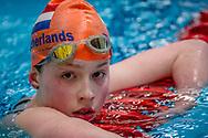 31-01-2014 : ZWEMMEN : NJK KORTE BAAN : AMSTERDAM<br /> <br /> Zwemster NJK