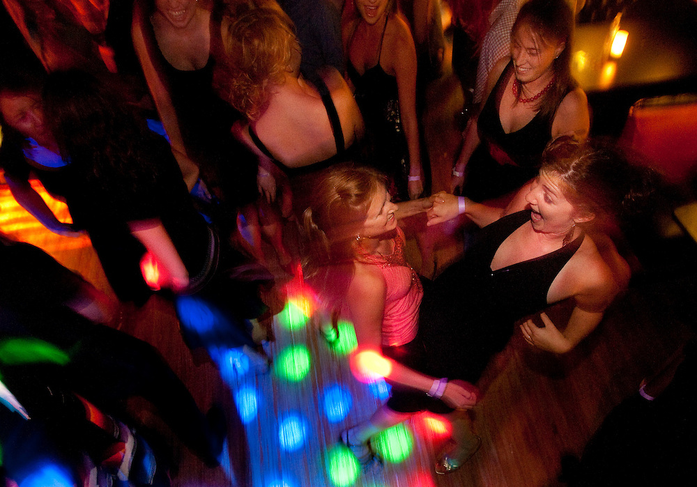 Salsa night at the Artful Dodger, Harrisonburg, Va.