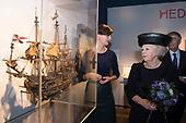 Prinses Beatrix bij het Museumsymposium