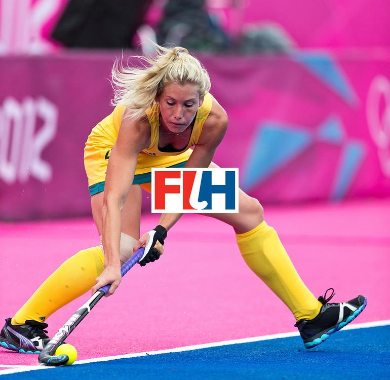 London Olympics 04/08/2012.Womens Hockey Australia v South Africa...Photo: Grant Treeby