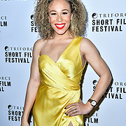 Ria Hebdon attend TriForce Short Festival, on 30 November 2019, at BFI Southbank, London, UK.