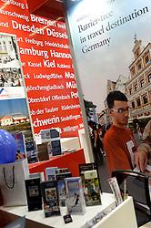 DK caption:<br /> Herning, Danmark, 20140222:<br /> MCH Messe, Ferie for alle.   Tysklands stand<br /> Foto: Lars Møller<br /> UK Caption:<br /> Herning, Denmark, 20140222:<br /> MCH Fair, Ferie for alle.   Germany<br /> Photo: Lars Moeller