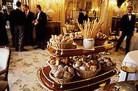 ca. 1990-2001, Monte-Carlo, Monaco --- Breads at the Louis XV Restaurant --- Image by © Owen Franken