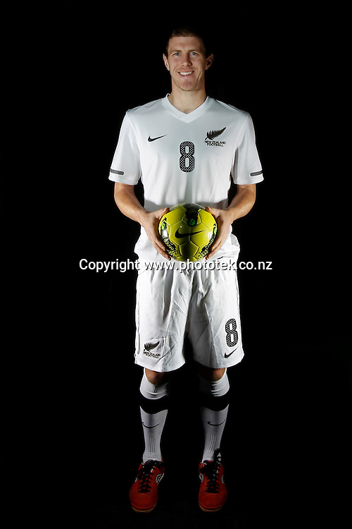 Daniel BURNS. Futsal Photo Shoot, North Harbour Stadium, Albany, Wednesday 19th September 2012. Photo: Shane Wenzlick