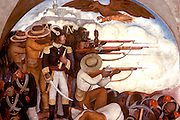 MEXICO, MEXICO CITY, MURALS Rivera's 'History of Mexico'