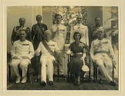 Governor of Ceylon. <br /> Back row, second from right is Hildon Sansoni.