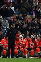 09.12.2012 SPAIN -  La Liga 12/13 Matchday 15th  match played between Atletico de Madrid vs R.C. Deportivo de la Courna (6-0) at Vicente Calderon stadium. The picture show  Jose Luis Oltra (Coach of R.C. Deportivo)