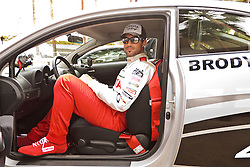 LONG BEACH, CA - APR 13: Actor and model  Brody Jenner during practice day at the 2012 Toyota Celebrity/PRO Race in Long Beach, CA. All fees must be ageed prior to publication,.Byline and/or web usage link must  read PHOTO: Eduardo E. Silva/SILVEX.PHOTOSHELTER.COM