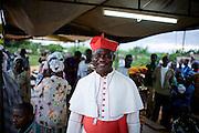 Cardinal Turkson makes a pastoral visit to Ekumfi Nanaben, Ghana, June 9, 2007.