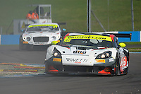 David Pattison (GBR) / Luke Davenport (GBR)  #56 Tolman Motorsport  Ginetta G55 GT3  Ginetta 4.3L V8. British GT Championship at Donington Park, Melbourne, Leicestershire, United Kingdom. September 11 2016. World Copyright Peter Taylor/PSP.