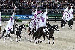 Openingceremony: FEI Flags<br /> World Equestrian Games Lexington - Kentucky 2010<br /> © Dirk Caremans