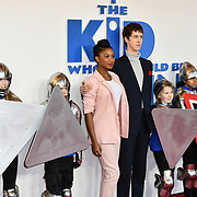 Rhianna Dorris and Angus Imrie Arrives at The Kid Who Would Be King on 3 February 2019 at ODEON Luxe Leicester Square, London, UK.