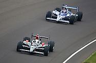 24 May 2009: 12 Will Power and 2 Raphael Matos at Indianapolis 500. Indianapolis Motor Speedway Indianapolis, Indiana.