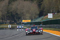 Marcel Fassler (CHE) / Andre Lotterer (DEU) / Benoit Treluyer (FRA) #7 Audi Sport Team Joest Audi R18 e-tron quattro, Free Practice 1  as part of the WEC 6 Hours of Spa-Francorchamps 2016 at Spa-Francorchamps, Stavelot, , Belgium . May 05 2016. World Copyright Peter Taylor/PSP.  Copy of publication required for printed pictures.  Every used picture is fee-liable. http://archive.petertaylor-photographic.co.uk