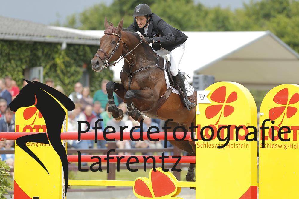 Fromberger, Jan-Pierre, Nouma D´Auzay<br /> Ehlersdorf - Ehlersdorfer Turniertage 2014<br /> Grosser Preis<br /> © www.sportfotos-lafrentz.de/ Stefan Lafrentz