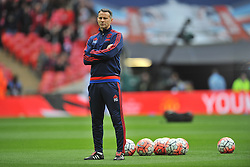 RYAN GIGGS ASSISTANT MANAGER MANCHESTER UNITED, Manchester United v Everton, The Emirates FA Cup Semi Final Wembley Stadium, Saturday 23rd April 2016, (Score 2-1), Photo:Mike Capps